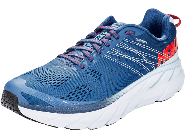 Hoka One One Clifton 6 Juoksukengät Miehet, ensign blue/plein air